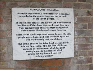 Rainham Cemetery - Holocaust memorial