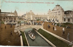 Fine Art Palace & Lagoon Franco British Exhib 1908