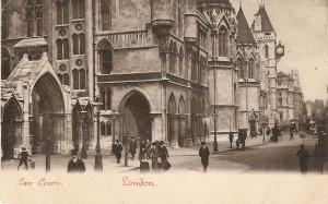 London - Law Courts