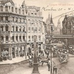 London - Ludgate Hill & circus