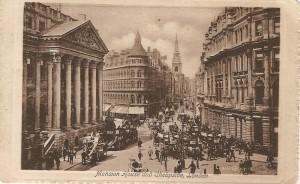 London - Mansion House & Cheapside