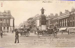 London - Waterloo Place & Pall Mall