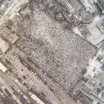 Aerial photo of Novo 1945 provided by Susie Clapham