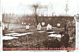 Hoxton Old Burial Ground 1707 &#8211; 1960