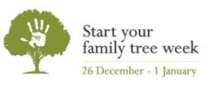 Start your family tree week – Your Jewish Family tree!