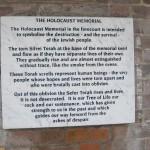 Holocaust Memorial Detail @420