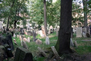 Jewish Graveyard.Prague.