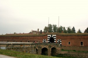 Main entrance to Small Fort, Terezin.
