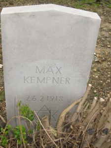 Kempner M @409  FN German Civilian Casualty 26-02-1918