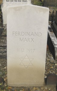 Marx F @409 FN German Civilian Casualty 11-02-1917