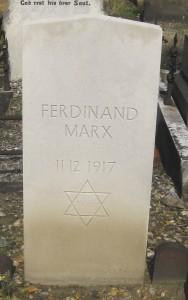 Marx F @409 FN German Civilian Casualty 11-02-1917