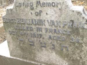 Van Praag B @410 04-10-1917