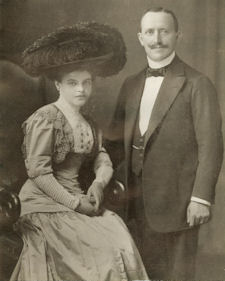 Wilhelm and Lisbeth nee Krakauer.