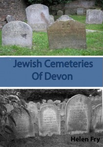 Jewish Cemeteries of Devon - Jacket cover