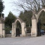 Entrance to Ely Cemetery