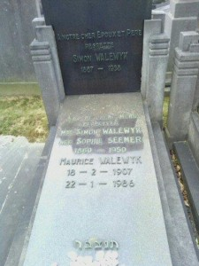 Simon Walewyk & Sophie nee Seemer and Maurice Walewyk