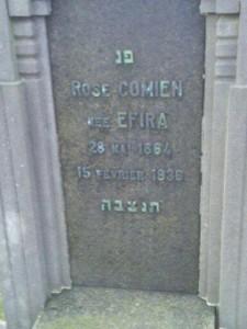 Rose Comien nee Efira