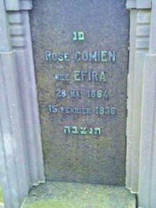 Comien Rose nee Efira