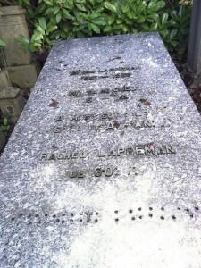 De Goeje - Lappeman memorial
