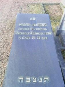 Marie-Wurms-nee-Rubens