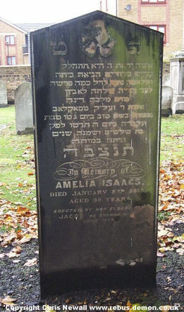 Isaacs, Amelia  (married name)