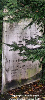 Solomon, Sarah (married name?)