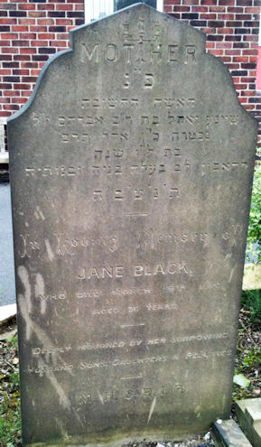 Black, Jane (married name)