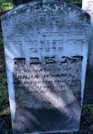 Hyams, Julia