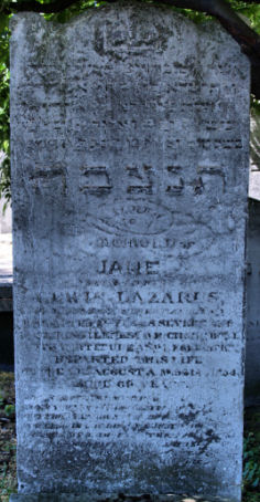 Lazarus, Jane (married name)