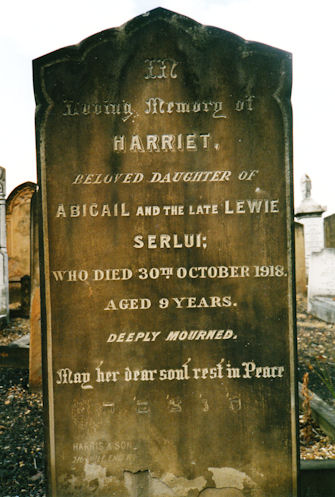 Serlui, Harriet