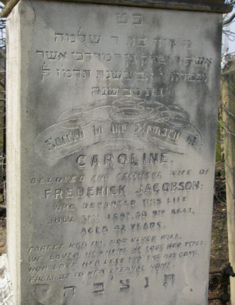 Jacobson, Caroline (married name)