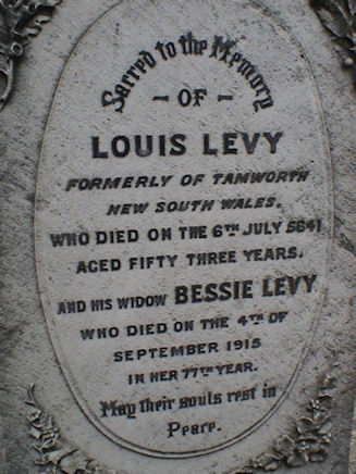 Levy, Louis and Bessie Mandelson