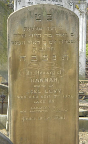 Levy, Hannah (married name)
