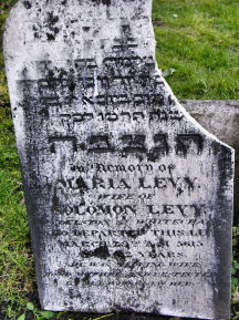Levy, Maria (Married name)