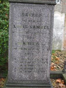 Samuel, Louis and Henrietta nee Israel