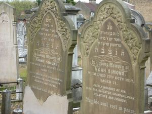 Simons, Noah and Fanny (married name)