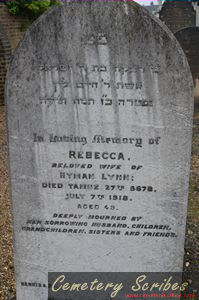 Lynn, Rebecca (married name)