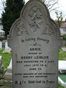 Leiber, Annie (married name)
