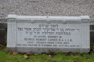 Cohen, George Hubert (Memorial)