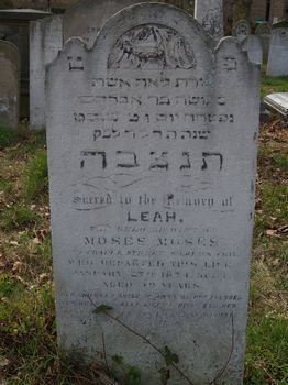 Moses, Leah (married name)