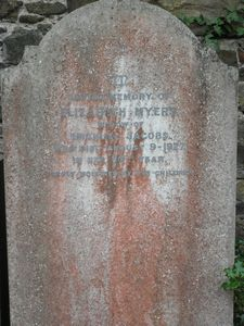 Jacobs, Elizabeth (nee Myers, previously Park)