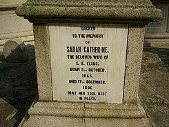 Elias, Sarah Catherine (married name)