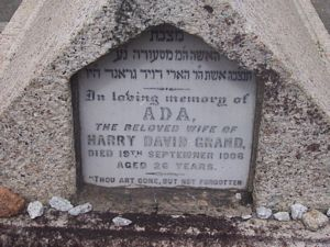 Grand, Ada (married name)