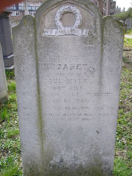 Myers, Elizabeth (married name)