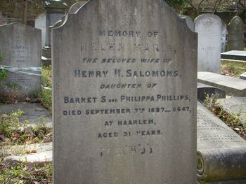 Salomons, Helen Maria (nee Phillips)