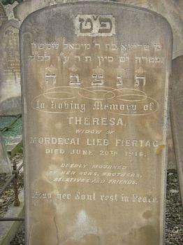 Fiertag, Theresa (married name)
