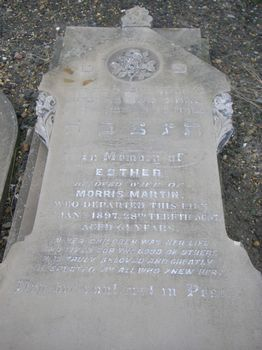 Martin, Esther (married name)