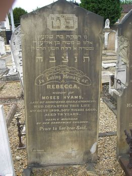 Hyams, Rebecca (married name)