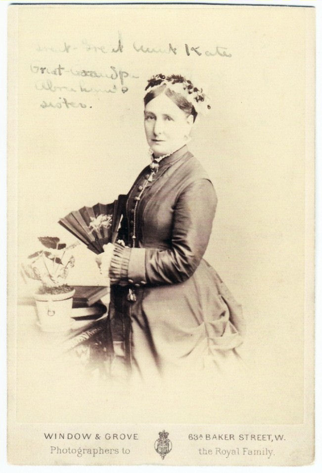 Kate Goodman nee Abraham