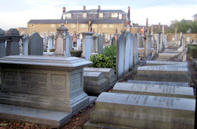 Willesden Jewish Cemetery - General View
